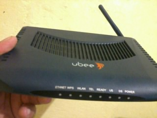 CABLE MODEM UBEE